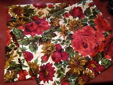 Floral Design Pillow Shams