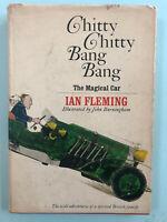 Ian Fleming - Chitty Chitty Bang Bang - First Edition Hardcover Dustjacket VG+