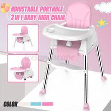 3-in-1 Babystuhl Hochstuhl Kinderhochstuhl Babyliege Kinderstuhl Hocker Essstuhl