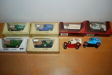 Joblot 8 x Matchbox Models of Yesteryear 6 x boxed 2 x unboxed - good condition