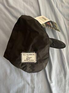 New! RARE Filson x Nomar Original Trapper Hat. Black. M. Made In USA. Alaska.