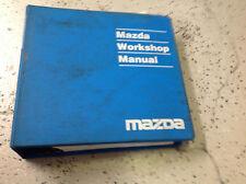 2001 Mazda Protege Service Repair Workshop Shop Manual OEM Factory 2001