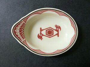 Vintage Ancient Mimbreno Santa Fe Railroad Dish Bowl