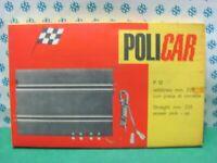 Slot Car 1/32  -  RETTILINEO mm. 220 con presa di corrente - Policar P.12   MIB