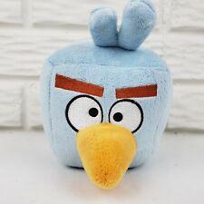 """Angry Birds Space Rovio Ice Cube Blue No Sound Stuffed Animal Plush 5"""""""