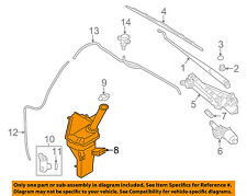 HYUNDAI OEM Elantra Wiper Washer-Windshield Fluid-Reservoir Tank 986203X500