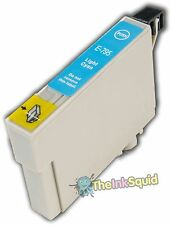 1 Light Cyan Non-OEM T0795 'Owl' Ink Cartridge with Epson Stylus 1400