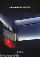 FIAT CROMA PROSPEKT 4/88 brochure 1988 AUTO AUTOMOBILI AUTO prospetto Italia