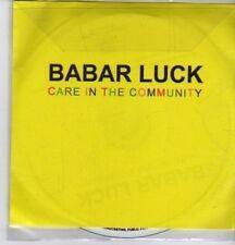 (DE618) Babar Luck, Care In The Community - 2005 DJ CD