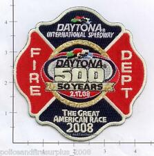 Florida - Daytona International Speedway FL Fire Dept Patch v2  NASCAR