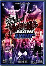 WWE 2009: The Best of Saturday Nights Main Event (DVD, 2009, 3-Disc Set)-NEW-