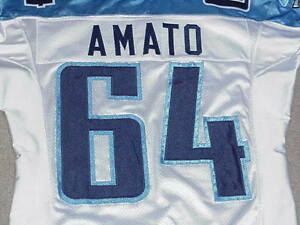 Ken Amato Rookie Game Jersey 2003 Tennessee Titans