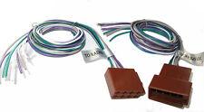 Cable ISO adaptador para altavoces universal con cabos sueltos plenamente ocupada