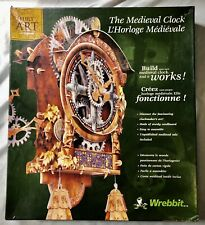 WREBBIT BUILD ART COLLECTION The Medieval Clock  L'Horloge Medievale  NEW