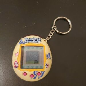 Tamagotchi Connection V2 Yellow Butterflies - Tested, Working!