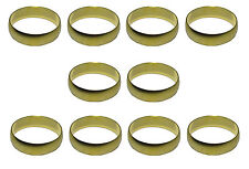 28mm Brass Olives (10 Pack) For Compression Plumbing Fittings