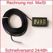 Termómetro Digital LCD -50 °+ 110°C longitud del Cable: 2m 3m 5m 10m