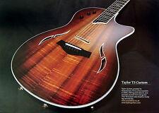 Taylor T5 Custom Guitar Fine Art Print size 295 x 208mm