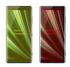 2x Schutzfolie für Sony Xperia XZ3 inkl. Rundung Flex Folie dipos Display Schutz