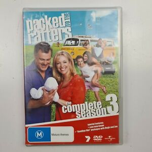Packed to the Rafters Season 3 Complete DVD (6 Discs) - Region 2,4 -TRACKED POST
