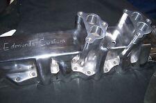"Fits Stromberg 97 48 Holley 94 Spacer Edmund's Intake Manifold Riser Flathead 1"""