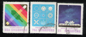 Singapore. 289-291. Science Center. Used. 1977 -18
