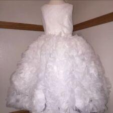 Joan Calabrese Flower Girl Dress Size 4