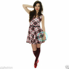 Checked Mini Dresses Petite Skater
