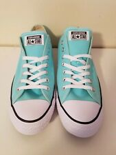 Converse Chuck Taylor All Stars Low Top Ox Aruba Blue Womens 12/ Mens 10 NWOB