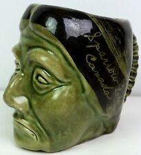Vintage souvenir Indian head Toby mug Sparrow Lake Canada stamped Canada 429