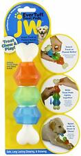 EverTuff Treat Pod Nylon Toys for Pets, Small, White Bone With Colored Pods