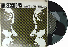 "THE SESSION 7"" What Is Feeling DEBUT vinyl single 500 MADE! POPTONES UNPLAYED"