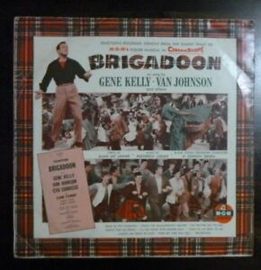 Various - Brigadoon (M-G-M Soundtrack) - 1954 Oz Mono Press - VG/VG+ Vinyl LP