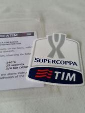 Lazio Juventus Kit Toppa Patch Badge x maglia calcio tg Supercoppa Tim 2015 16