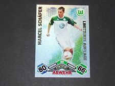 SCHÄFER LIMITED VFL WOLFSBURG TOPPS ATTAX PANINI FOOTBALL BUNDESLIGA 2010-2011