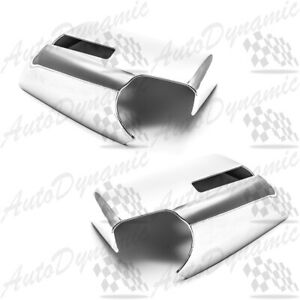 FOR 2009-2015 CHEVY TRAVERSE CHROME SIDE MIRROR COVER COVERS 2014 2013 2012 2011