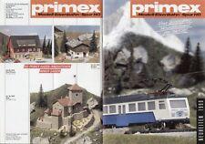 catalogo PRIMEX Märklin Neuheiten 1990 Modelleisenbahn Spur HO             D  aa