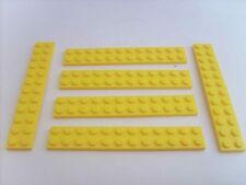 Lot pièces LEGO STAR WARS: 6 PLAQUES JAUNES 12X2 - TBE