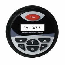 Bluetooth Marine Boat Gauge Audio Am/fm Radio Receiver Mp3 Player USB ATV UTV