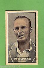 1936-1937 ALLEN'S CRICKET CARDS #7  W. J. O'REILLY