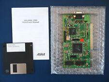 Grafikkarte Trident TVGA8900D-R • VGA  • ISA • 16bit • 1MB RAM • Vintage