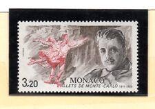 Monaco Ballets de Monte Carlo serie del año 1986 (BW-841)