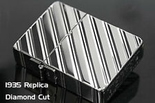 Zippo 1935 Replica 5-sides Diamond Cut Platinum Plating Gold Tank Japan Limited