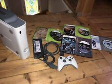 Microsoft Xbox 360 Premium 60 GB Weiß inkl. einem Controller & 5 Spielen