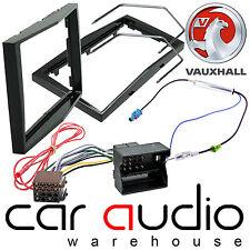 Vauxhall Corsa D Car Stereo Double Din Fascia Panel & Fitting Kit Piano Black