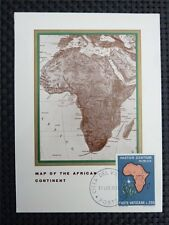 Vatican Mk 1969 uganda África africa maximum tarjeta Carte maximum card mc cm c4490
