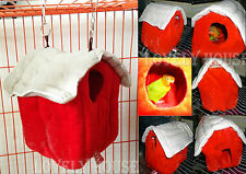 Hammock for Rat/Hamster/Squirrel/Small bird Hanging Bed Toy House Hut Cave Cage