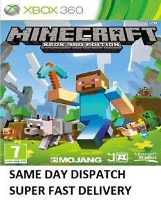 Minecraft Xbox 360 - MINT - 1000+ SOLD - Quick Dispatch via Super Fast Delivery