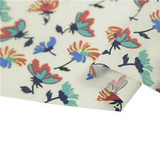 Pastoral Floral Print Cotton Fabric Children's Wear Cloth Make Bedding Decor