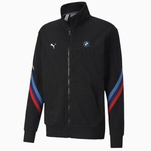 Puma BMW MMS Life Sweat Jacket (Men's Size S) Full Zip Track Jacket Black